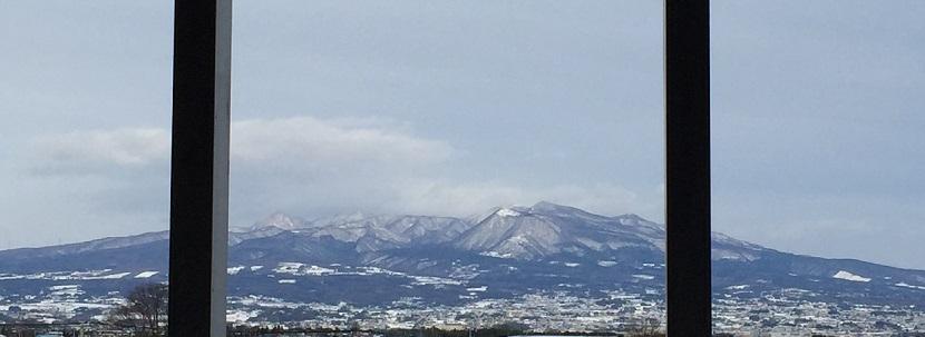 イオンモール高崎からの眺め